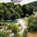 Krka, Kroatien
