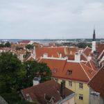 Blick auf Tallinn, Estland