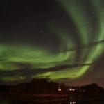 Polarlichter auf der Atlantikstraße, Norwegen