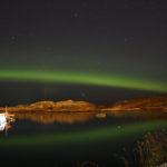 Polarlichter Kristiansund, Norwegen