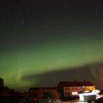 Polarlichter Lysø, Norwegen