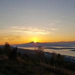 Sonnenaufgang Molde, Norwegen