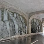Tunnel an der Viamala, Schweiz