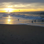 Sonnenuntergang, Sylt