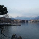 Abendstimmung in Lugano, Schweiz