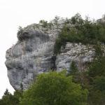 Rocher du Singe (Affenkopf), Schweiz