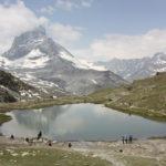 Riffelsee mit Matterhorn, Schweiz