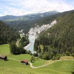 Rheinschlucht (Vorderrhein, Schweiz)